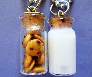 Milk & Cookies BFF Necklaces