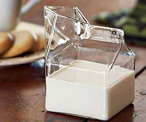Milk Carton Glass