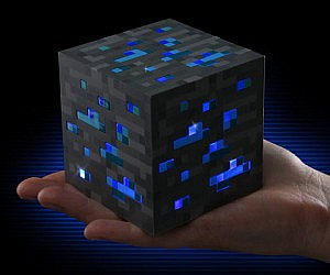 Minecraft Diamond Ore Block