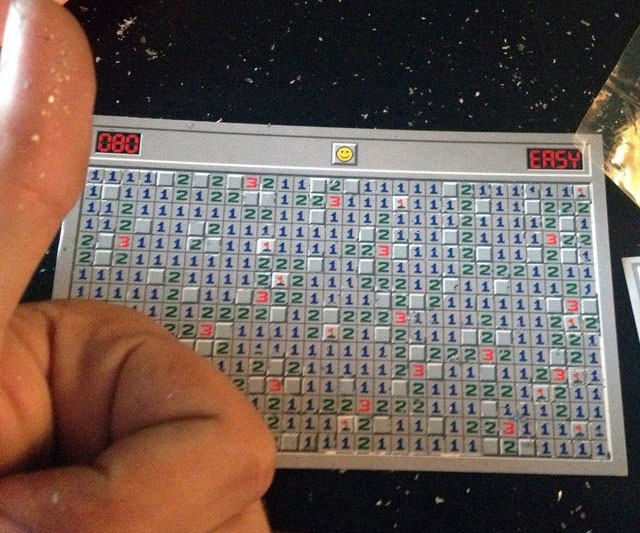 Minesweeper Scratch Off Card