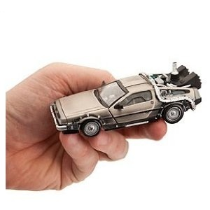 Mini Diecast BTTF DeLorean