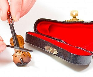 World's Tiniest Violin