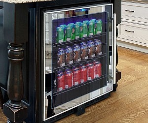 Mirrored Touch Screen Drink Cooler