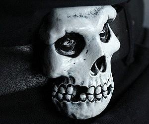 Misfits Skull Belt Buckle