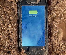Waterproof Battery iPhone Case