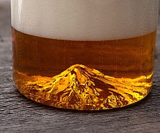 Mount Hood Beer Glass