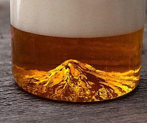 Mount Hood Beer Glass