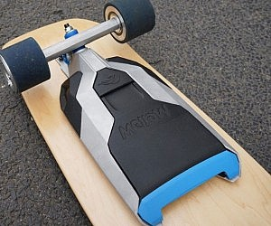 Mountable Electric Skateboard System