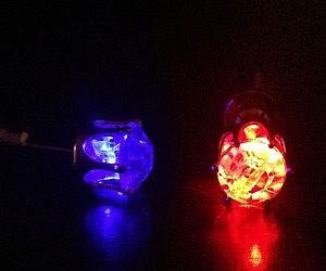 Flashing LED Earrings