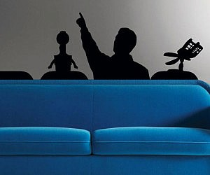 Mystery Science Theater Wall Decal