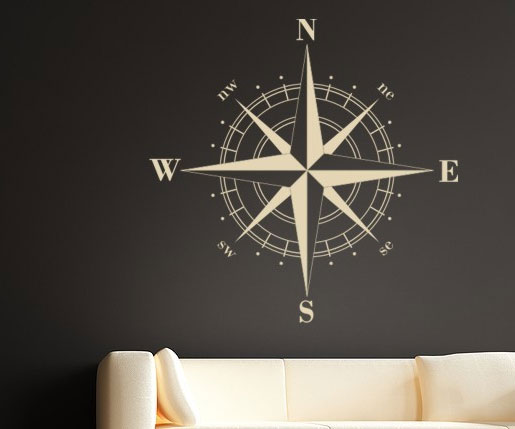 nauticall-wall-compass-decal