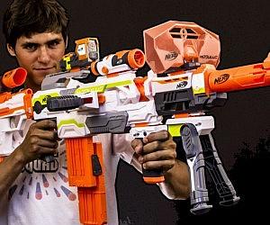 Modular NERF Gun
