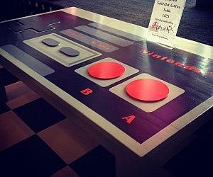 Nintendo Controller Coffee Table