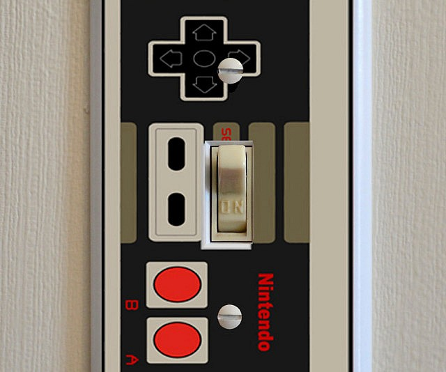 nes-controller-lightswitch-plate