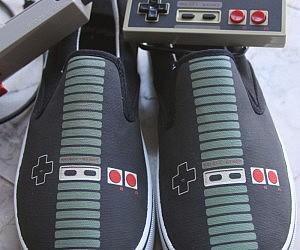 Nintendo Controller Shoes
