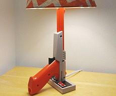 NES Zapper Gun Lamp