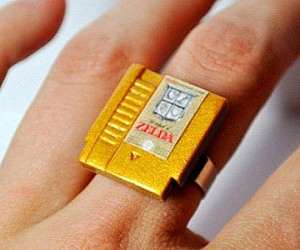 Nintendo Cartridge Ring