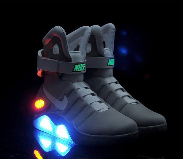 Cheap Wholesale Nike Air Mag Back To Future Shoes Mens Nike Back