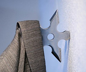 Ninja Star Coat Hook