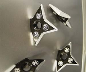 Ninja Star Magnets