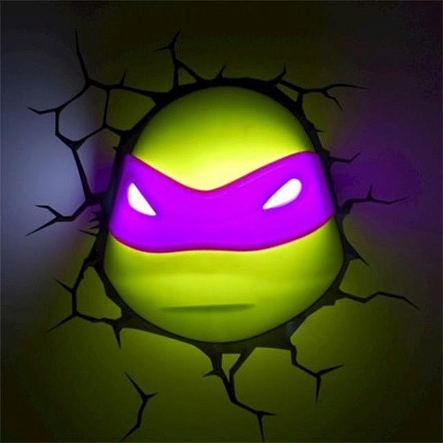 Ninja Turtles 3D Nightlight