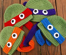 Teenage Mutant Ninja Turtle Beanies