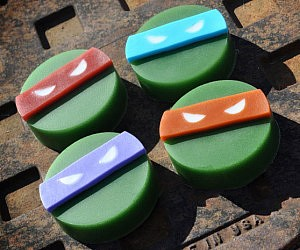 Ninja Turtles Soap Bar