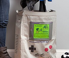 Game Boy Laundry Hamper