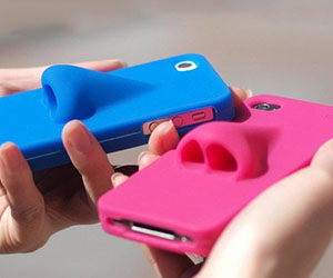 Silicone Nose iPhone Case