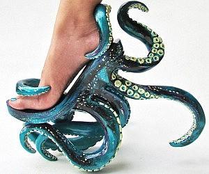 Octopus Tentacle Heels