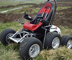 All Terrain Vehicle Wheelchair