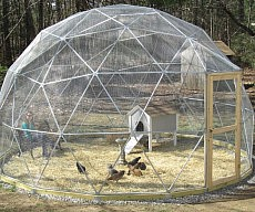 Outdoor Geodesic Dome