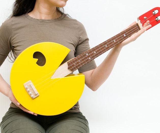 pac-man-ukulele