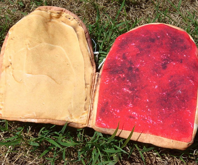 Peanut Butter And Jelly Wallet
