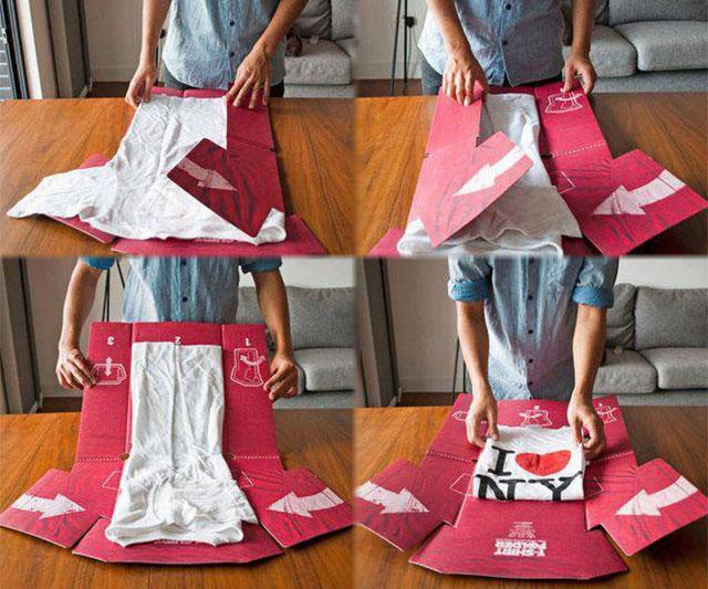 Perfect Shirt Folder