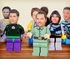 Custom 3D Printed LEGO Heads