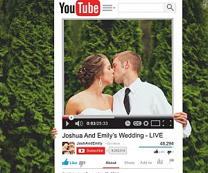 Personalized YouTube Photo Prop