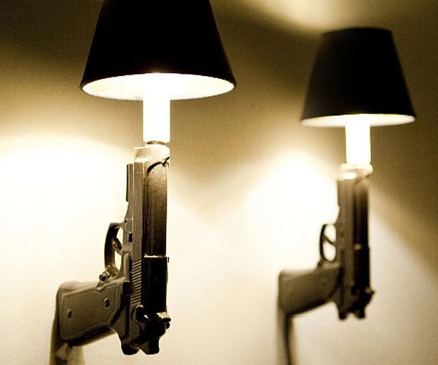 pistol-lamps