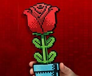 pixelated-8-bit-rose