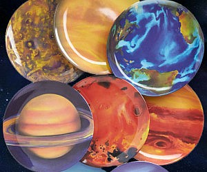 Planetary Plates