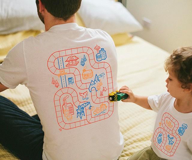 Back Massage Playmat Shirt