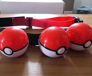 Pokeball Belt