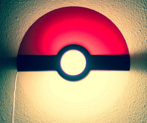 Pokeball Night Light