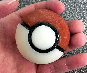 Pokeball Soap