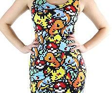 Pixelated Pokemon Dress