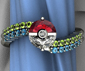 Pokemon Engagement Ring