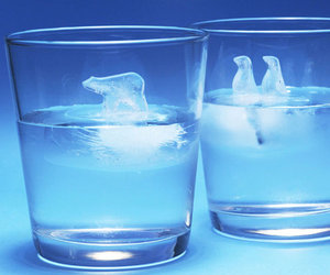 Polar Bear Ice Cube Molds