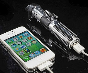 Portable Lightsaber Charging Station