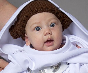 Princess Leia Baby Costume