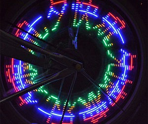Programmable Wheel Spoke Lights